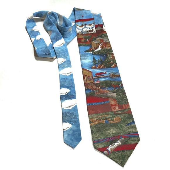 MBP Other - Americana Series 100% Silk Tie by MBP